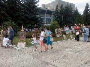 Выставка кузнецких художников - 02.09.2017