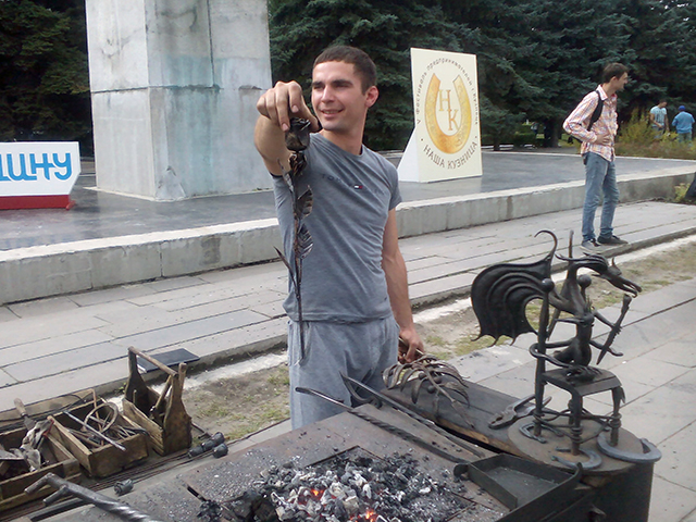 Лицо фестиваля - Наша кузница, Кузнецк - 2017