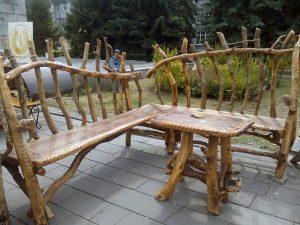 Мебель из палок - Наша кузница, Кузнецк 2017