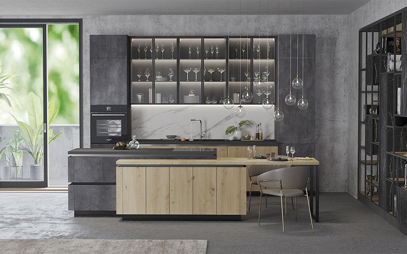 кухня Silver Slate