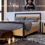 Кровать Палермо Лофт мебельная фабрика Мебель Поволжья Кузнецк