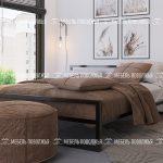 Кровать Парнас Лофт мебельная фабрика Мебель Поволжья Кузнецк