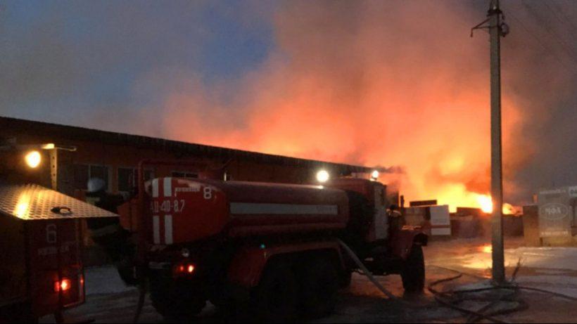 Пожар мебельная фабрика склады МФА стоп-мебель Кузнецк